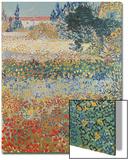 Garden in Bloom, Arles, c.1888 Acrylique par Vincent Van Gogh