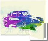 Porsche 911 Watercolor