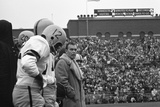 Coach Murray Warmath  Minnesota- Iowa Game  Minneapolis  Minnesota  November 1960
