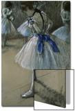 Danseuse Acrylique par Edgar Degas