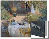 The Luncheon: Monet's Garden at Argenteuil  circa 1873