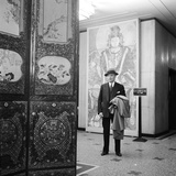 Portrait of Art Dealer CT Loo (Ching Tsai Loo  1880-1957) a Specialist in Chinese Artworks  1950