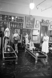 1951: Roberta Peters Working Out with Joseph Pilates and Others in a Studio  New York  NY