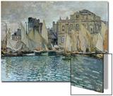 Vue du Havre, 1873 Acrylique par Claude Monet