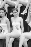 1st Miss Universe Contest  Miss Hong Kong Judy Dan and Miss India Indrani Rahman  CA  1952