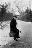 1975: Portrait of Albanian-Born American Photographer Gjon Mili (1904-1984)  Romania