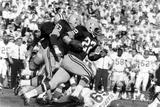Green Bay Packer Elijah Pitts at Super Bowl I  Los Angeles  California  January 15  1967