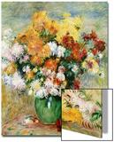 Bouquet de Chrysanthèmes, circa 1884 Acrylique par Pierre-Auguste Renoir