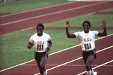 Winners of the 400-Meter Relay Race at the 1972 Summer Olympic Games in Munich  Germany