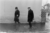 1975: View of Two Unidentified Members of Photographer Gjon Mili's Family  Romania