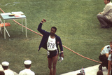 Wayne Collett after Winning Men's 400-Meter Race at 1972 Summer Olympic Games in Munich  Germany