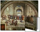 L'école d'Athènes Acrylique par Raphael