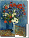 Still Life: Vase with Cornflowers and Poppies  1887