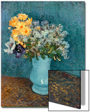 Vase of Lilacs, Daisies and Anemones, c.1887 Acrylique par Vincent Van Gogh
