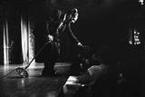 Milton Berle Petting Audience Members Head During Comedy Routine at El Rancho  Las Vegas 1958