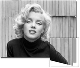 Actress Marilyn Monroe at Home Acrylique par Alfred Eisenstaedt