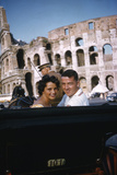 August 1960: Harold Connolly and His Wife Olga Fikotova at the 1960 Rome Olympic Games  Rome