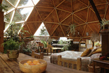 Geodesic Dome House Designed by Cathedralite Domes for Dr Charles Bingham  Fresno  CA  1972