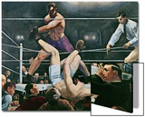 Dempsey v Firpo in New York City  1923  1924