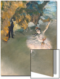 The Star, or Dancer on the Stage, circa 1876-77 Acrylique par Edgar Degas