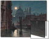 Venice under Moonlight  1869
