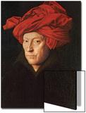 A Man in a Red Turban (Self-Portrait of Jan Van Eyck)  1433