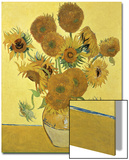 Vase of Fifteen Sunflowers, c.1888 Acrylique par Vincent Van Gogh