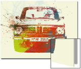Bmw 2002 Front Watercolor 2