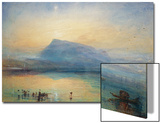 The Blue Rigi: Lake of Lucerne - Sunrise  1842