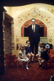 Judge Roy Mark Hofheinz and Grandchildren  Harris County Stadium 'Astrodome'  Houston  TX  1968