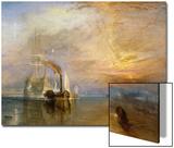 Le dernier voyage du Téméraire, 1839 Acrylique par J. M. W. Turner