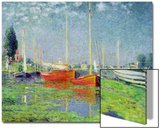 Argenteuil, circa 1872-5 Acrylique par Claude Monet