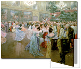 Court Ball at the Hofburg  1900