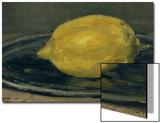The Lemon, 1880 Acrylique par Édouard Manet