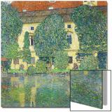 Schloss Kammer Am Attersee III (Wasserschloss), 1910 Acrylique par Gustav Klimt