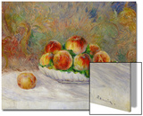 Pêches Acrylique par Pierre-Auguste Renoir