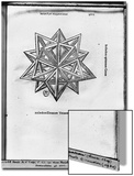 "Dodecahedron  from ""De Divina Proportione"" by Luca Pacioli  Published 1509  Venice"