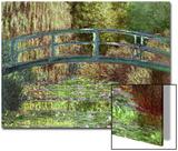 Claude Monet Le Pont Japonais Japanese Bridge at Giverny Art Print Poster