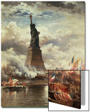 The Unveiling of the Statue of Liberty  Enlightening the World  1886