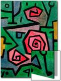 Heroic Roses, 1938 Acrylique par Paul Klee