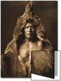 Bear's Belly-Arikara 1908 Acrylique par Edward S. Curtis