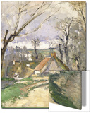 The Cottages of Auvers  1872-73