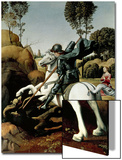 Saint George and the Dragon  1504-1506
