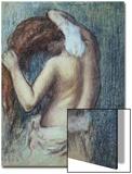 Femme a Sa Toilette, C.1895 (Pastel on Paper) Acrylique par Edgar Degas