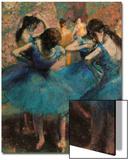 Dancers in Blue (Danseuses Bleues) Acrylique par Edgar Degas