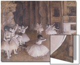 Ballet Rehearsal on the Stage  1874