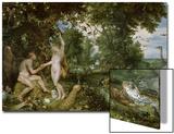 Adam and Eve in Paradise  circa 1610-15