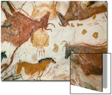 Cave of Lascaux  Ceiling of the Diverticulum: a Horse and Three Cows  C 17 000 BC