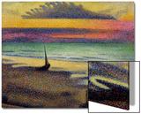 La plage à Heist,1891-92 Acrylique par Georges Lemmen