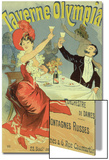 "Reproduction of a Poster Advertising the ""Taverne Olympia "" Paris  1899"